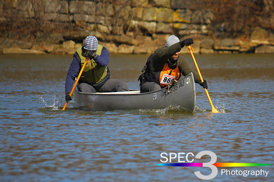 With a Little Teamwork! Keel-Haulers 'Vermilion River Race' 2011   © 2011 Paul L. Csizmadia / Spec3 Photography  All Rights Reserved  No Use Allowed without Permission