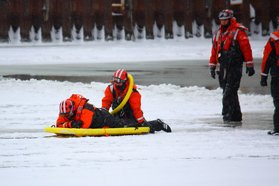 U.S.C.G. Ice Rescue Training!