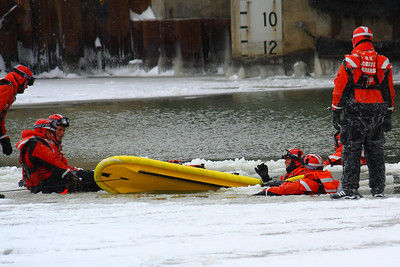 Maintaining Preparedness - U.S.C.G. Ice Rescue Training!