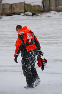 After a Morning of 'Ice Rescue Training'!