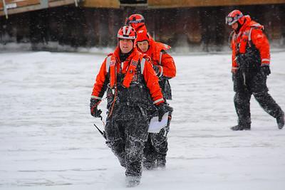 Winter Warriors On a Frozen River!