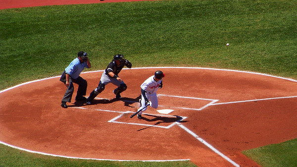 Laying Down a Bunt!