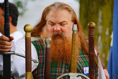Ohio Scottish Games 2010 - A Highlander and His Swords!
