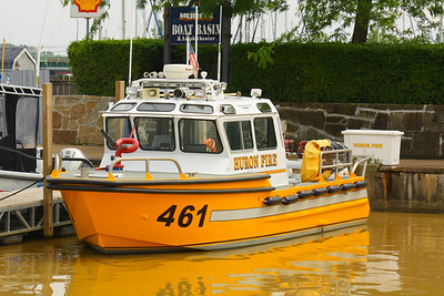 HFD #461 - The Little Yellow Fireboat in Huron, Ohio!