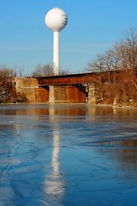 Frozen Blue - Along the Vermilion River!