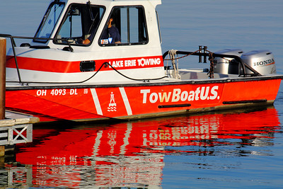 When You Need a Tow - On Lake Erie!