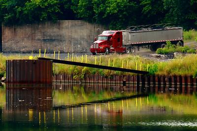 Dockside - On the Black River!