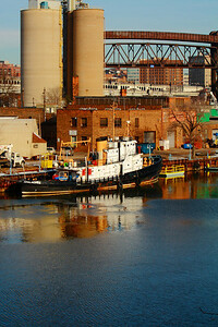 U.S.C.G. Cutter 'Apalachee' - Morning on the Cuyahoga!