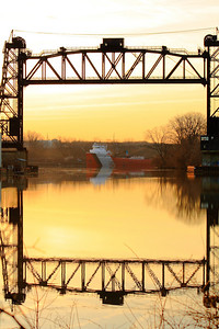 'S.S. Arthur M. Anderson' - The Dawn of a New Day on the Black River!