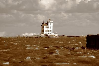September Gales on Lake Erie!