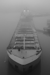 'The Calumet' - Foggy Morning on the Black River!