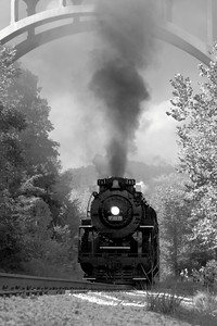 Nickel Plate 765 (NKP 765) - A Nostalgic Experience - 'Steam in the Cuyahoga Valley'!  © 2010 Paul L. Csizmadia  All Rights Reserved  No Use Allowed without Permission