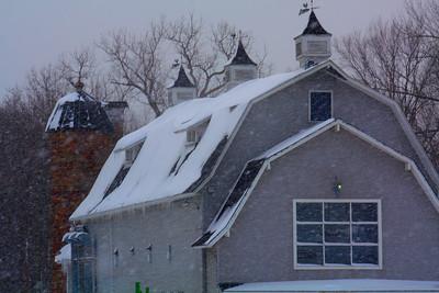 Snow Courtesy of Lake Erie!