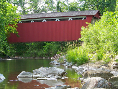 Just a Covered Bridge!