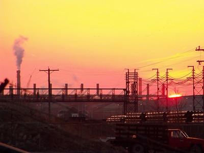 Steel Worker Sunset!
