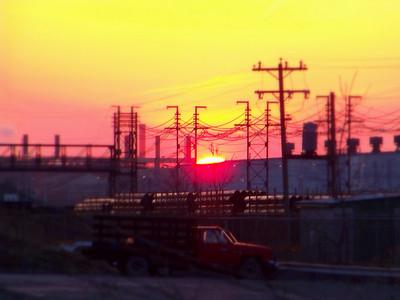 Rolling Mills Sunset!