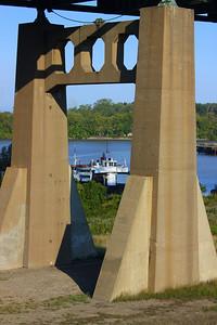 """Through a """"Bridge Pier""""!"""