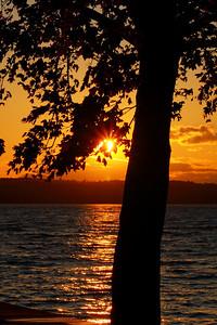 'Seneca Lake' - Silhouette at Sunset!