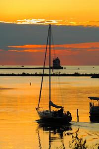 Splendor of Sunset - July Along the Shores of Lake Erie!