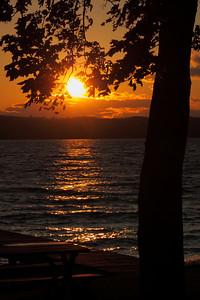 'Seneca Lake' - As the Sun Sets!