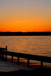 By the Light of a 'Seneca Lake' Sunset!