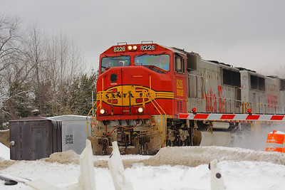 BNSF #8226 - Still wearing the 'Warbonnet' Colors!