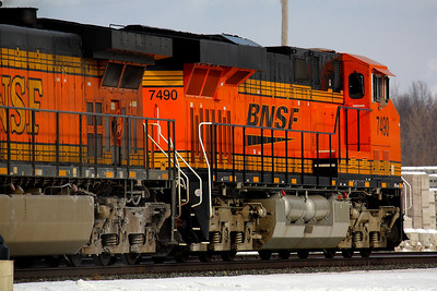 A Splash of BNSF Color!
