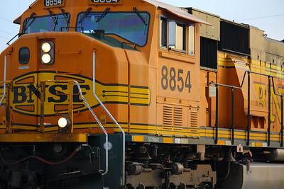 EMD SD70MAC BNSF #8854