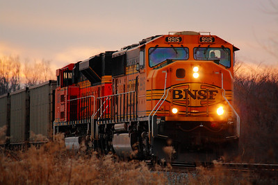 BNSF #9915 - BNSF Power on CSX!