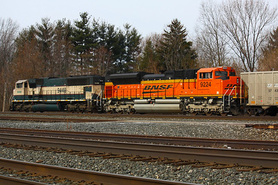 BNSF Headed West!