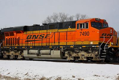 BNSF #7490