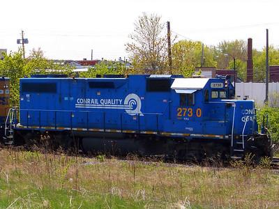 CSX Conrail Locomotive #2730