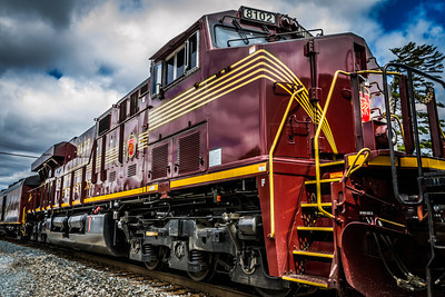 Along for the Ride with NKP765  Norfolk Southern #8102 - 'Pennsylvania RR' Heritage Unit - GE ES44AC - Bellevue, Ohio