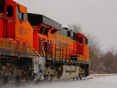 BNSF #6303 and #6014 - Headed East!