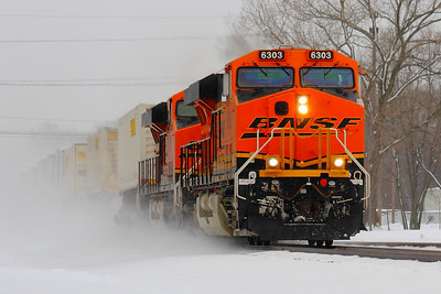 A 'Heritage III' Pair - Haulin' in the Snow!