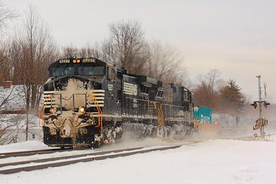 NS #9227 - Westward with a Snowy Blast!