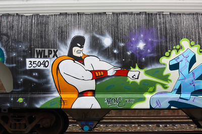 Space Ghost - Train Protector!