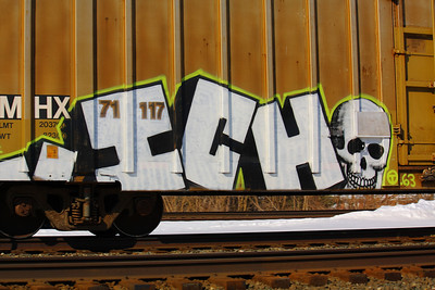 "Tagged by ""Ichabod - the rail fiend""!"