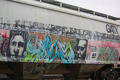 Extreme Rail Art!