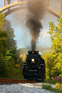 Nickel Plate 765 (NKP 765) - Southbound Steaming on the Cuyahoga Valley Scenic Railroad!  © 2010 Paul L. Csizmadia  All Rights Reserved  No Use Allowed without Permission