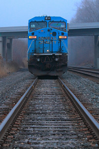 NS #8437 (ex CR 6261) - Old Conrail Blue Waiting for a Crew!