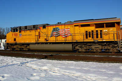 Union Pacific #7701 - Berea, OH