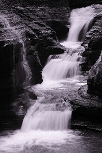 Three Little Falls! - Within 'Spiral Gorge' at Watkins Glen State Park