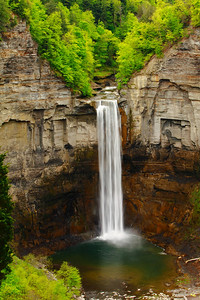 Taughannock Falls - With a Drop of 215 ft. (66 meters)!