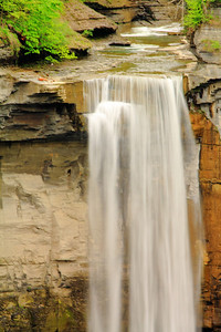 At It's Crest - Where Taughannock Creek becomes Taughannock Falls!
