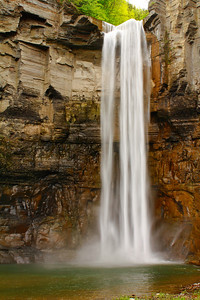 Taughannock Falls - Within the Gorge, 215 ft.(66 meters) Below!