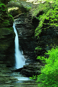 Falls of the 'Central Cascade' - Watkins Glen State Park!