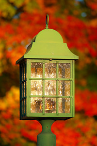 A Lantern on Fall!  © 2010 Paul L. Csizmadia  All Rights Reserved  No Use Allowed without Permission
