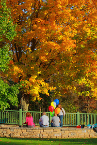 From Balloons to Foliage - The Colors of the Season!  © 2010 Paul L. Csizmadia  All Rights Reserved  No Use Allowed without Permission