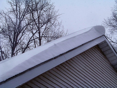 A Little Roof Snow!